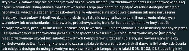 Regulamin - Plikostrada.pl