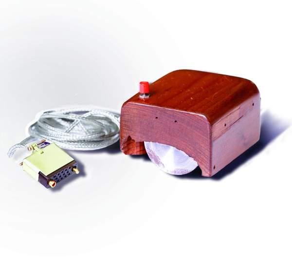 Prototyp myszy Douglasa Engelbarta