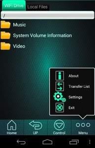 Aplikacja Patriot Connect dołączana do dysku Gauntlet jest bardzo łatwa w użyciu.