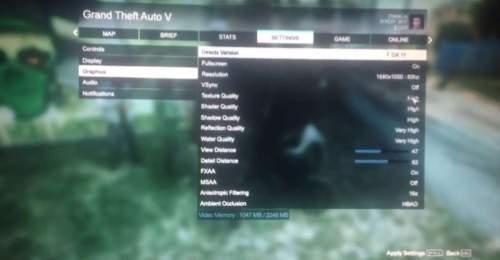 Rzekomy gameplay z GTAV na PC