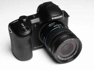 Pierwszy aparat hybrydowy z systemem Android - Samsung Galaxy NX