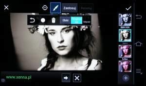 Możliwości edycji i stylizacji zdjęć w jednej z darmowych aplikacji na Androida.