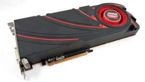Referencyjna karta graficzna z układem graficznym AMD Radeon R9 290X.