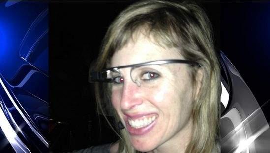 Sarah Slocum ze swoim ukochanym gadżetem Google Glass