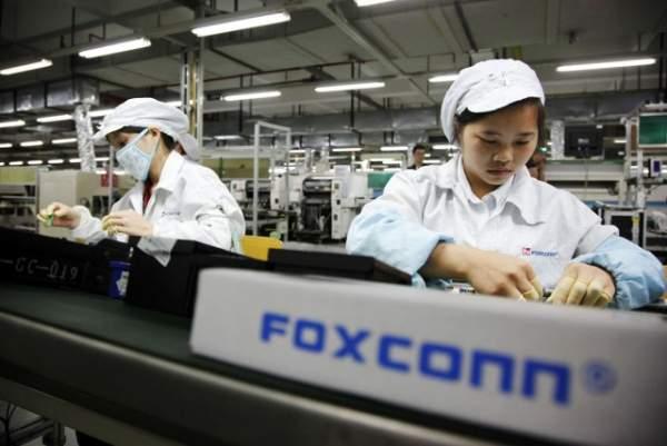 Hala w Foxconn