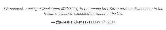 Nie będzie już Nexusa 6?