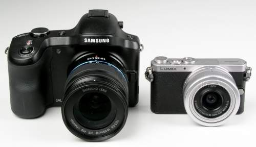 Mały i duży - czyli Samsung Galaxy NX oraz filigranowy Lumix GM1