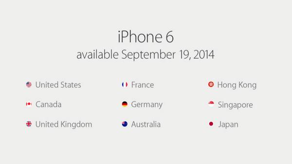 Apple iPhone 6: dostępność