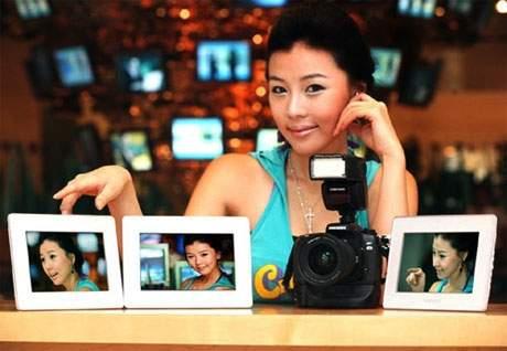 Niebezpieczne cyfrowe ramki Samsunga