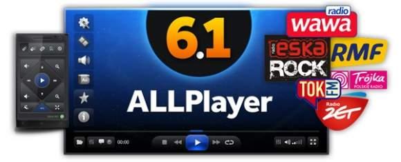 ALLPlayer 6.1 jest jużdostępny do pobrania