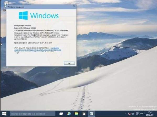 Windows 10 build 10022 - podobno