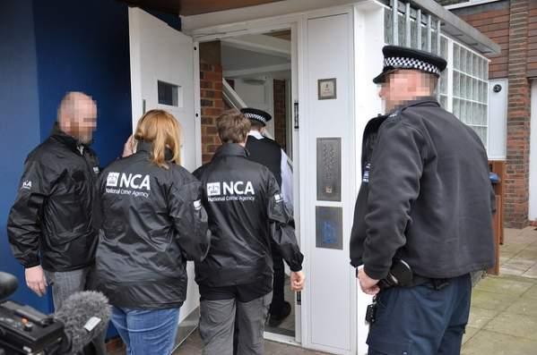 Aresztowanie w Harlesden (foto: oficjalne materiały NCA)