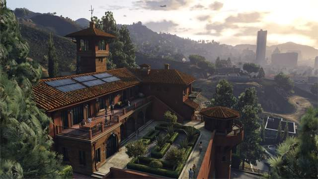 Zrzut ekranu z gry GTA V dla PC
