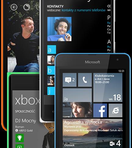 Windows Phone (reklama z oficjalnej strony)