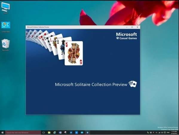 Zestaw gier karcianych w Windows 10 (foto: WZor)