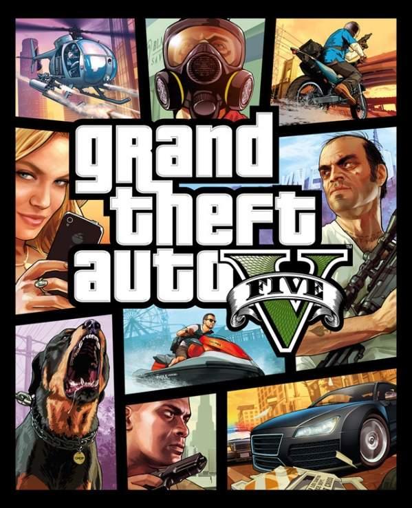Okładka GTA V (foto: Rockstar)