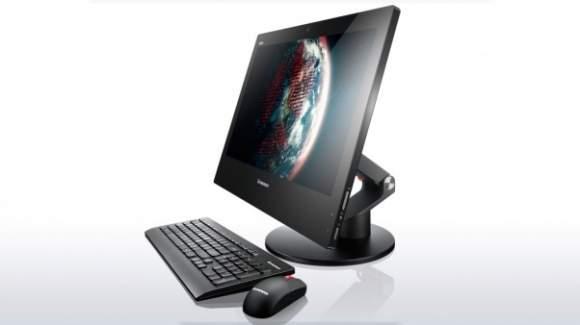 Lenovo ThinkCentre E73z to stylowy i jednocześnie dobrze wykonany komputer AIO, który sprawdzi się w każdej firmie. Wyposażony jest w uniwersalną podstawkę za pomocą, której można wygodnie regulować kąt położenia ekranu a nawet specjalną rączkę ułatwiającą przenoszenie komputera. Ma też komplet interfejsów bezprzewodowych (Wi –Fi, Bluetooth) szybką gigabitową kartę LAN. Lenovo zadbał też o dodatkowe oprogramowanie, które usprawnia korzystanie z komputera i zabezpiecza przechowane dane. Co ważne komputer dostępny jest z nowoczesnymi procesorami Intela czwartej generacji (Intel Core i7, Core i5 i Core i3).