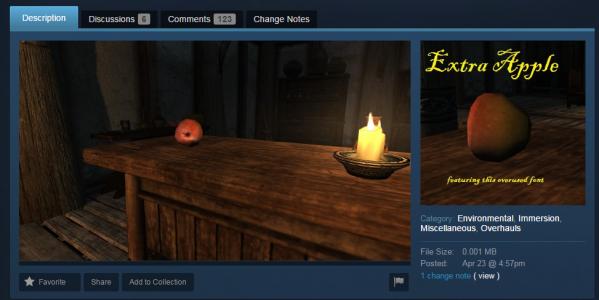 Dodatkowe jabłko w grze? Tylko 29,99 USD! (foto: Steam)