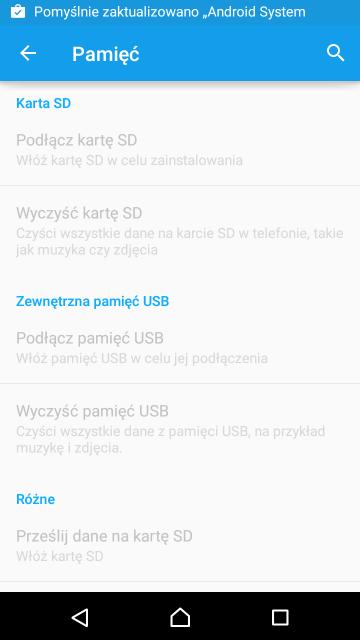 W niektórych smartfonach i tabletach z Androidem można umieścić kartę microSD