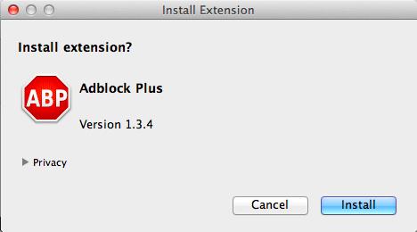Instalacja wtyczki AdBlock Plus (foto: strona wtyczki)