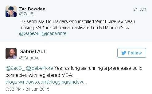 Windows 10 - darmowa aktualizacja dla uczestników programu Windows Insider