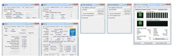 Potwierdzenie możliwości pamięci Kingston HyperX Predator DDR4 128 GB