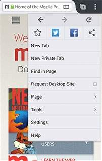Firefox dla Androida