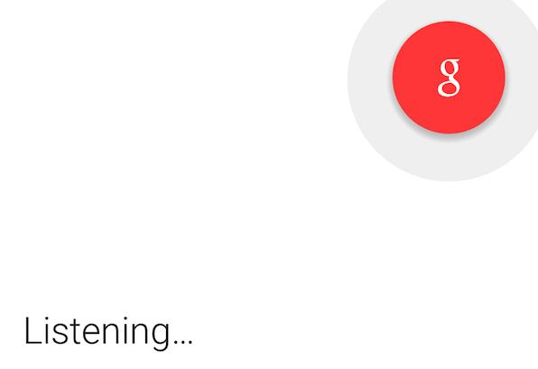 Google Now można uruchomić tak jak wcześniej włączało się aplikacjętelefonu