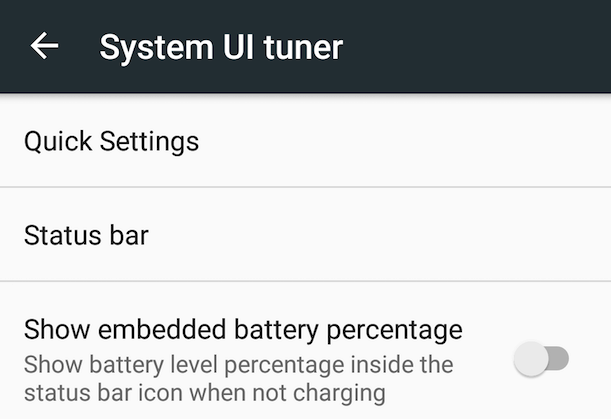System UI Tuner to przydatne narzędzie