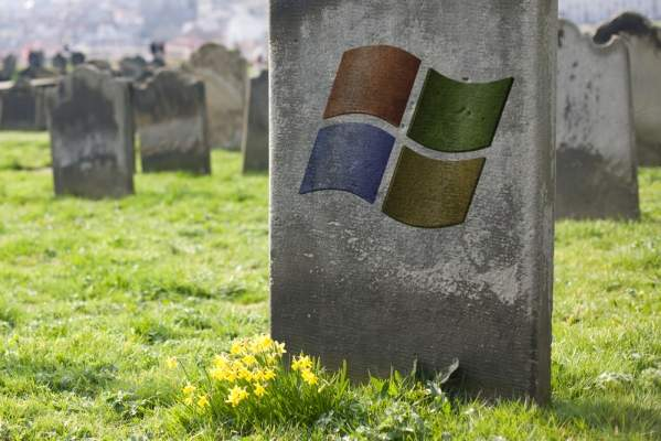 Koniec Windows XP?