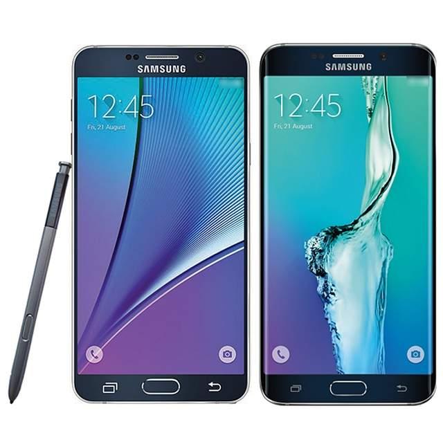 Galaxy Note 5 i Galaxy S6 Edge+