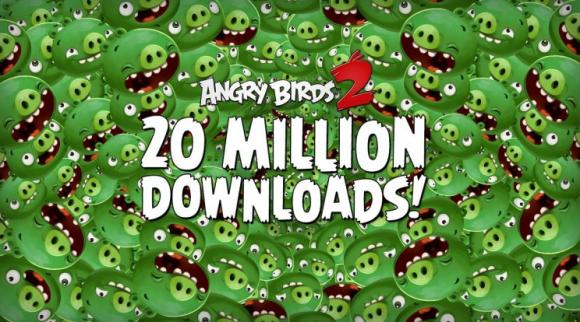Angry Birds 2 - nowa gra Rovio zainteresowała miliony ludzi