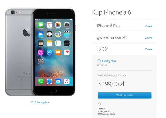 Apple obniżyło ceny zeszłorocznych iPhone'ów