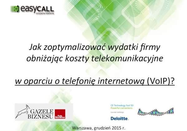 Telefonia internetowa - poradnik easyCALL.pl