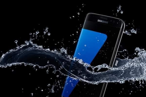 Samsung Galaxy S7 posiada wodoszczelną obudowę