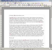 Writer to znakomity edytor tekstu
