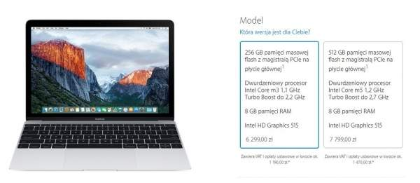 Nowy Apple MacBook