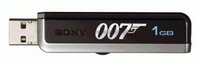 Dysk USB Sony z limitowanej serii  007/Casino Royale