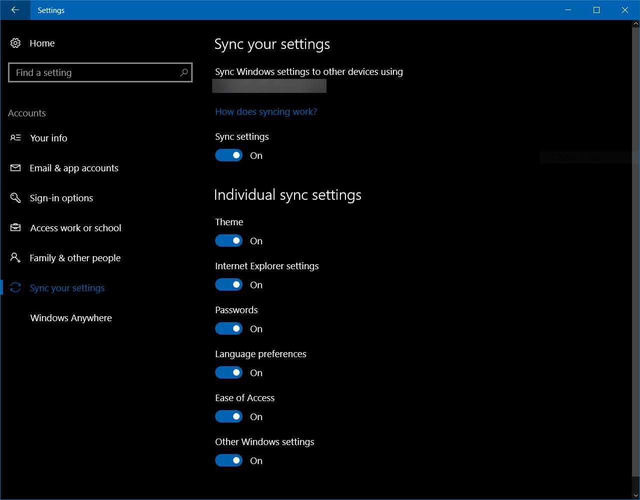 Windows 10 z funkcją Windows Anywhere