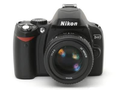 Najnowsza lustrzanka cyfrowa Nikona - D40