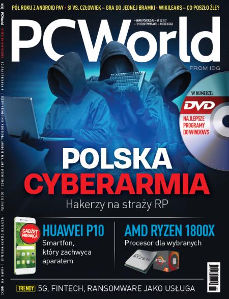 PC World 5/2017 - okładka pisma