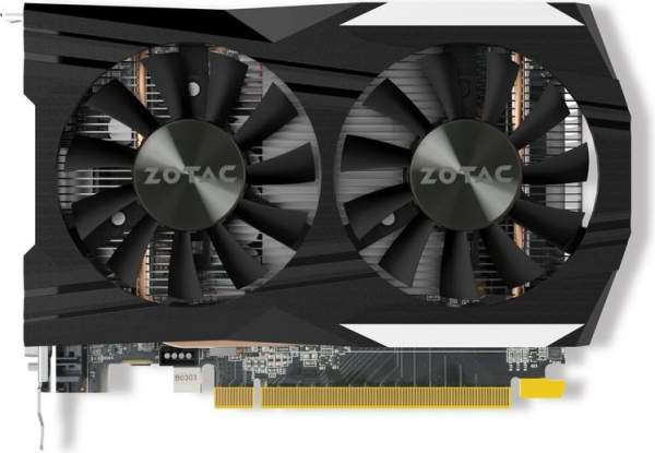 Zotac GeForce GTX 1050 Ti 4GB OC Edition