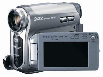 JVC MiniDV GR-D750