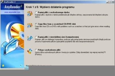 Polski interfejs jest bardzo pomocny