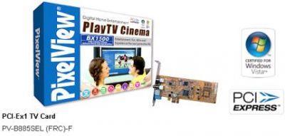 Tuner telewizyjny Prolink PixelView PlayTV Cinema BX1500