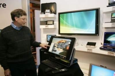Bill Gates na targach CES 2007
