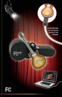 Pendrive Gibson Les Paul Standard 1 GB