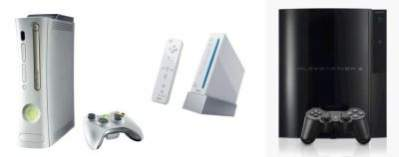 Xbox 360, Nintendo Wii, PlayStation 3
