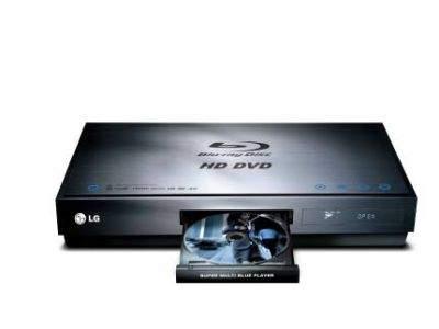 Odtwarzacz Blu-ray i HD DVD LG Multi Blue BH100