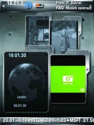 Prototypowy interfejs użytkownika Nvidii dla urządzeń mobilnych